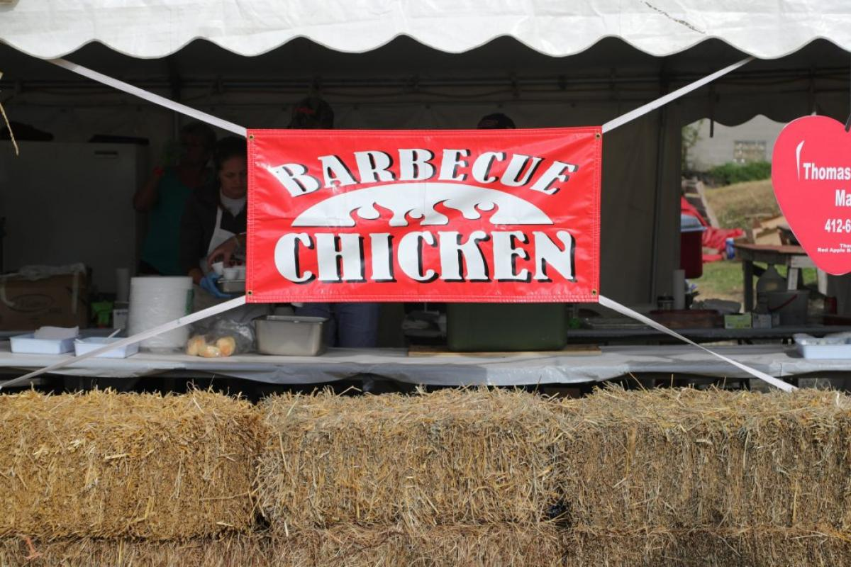 barbecue chicken sign